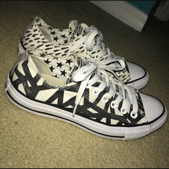 77a2ecd437da Converse Shoes - CUSTOM low-top Chuck Taylors Converse